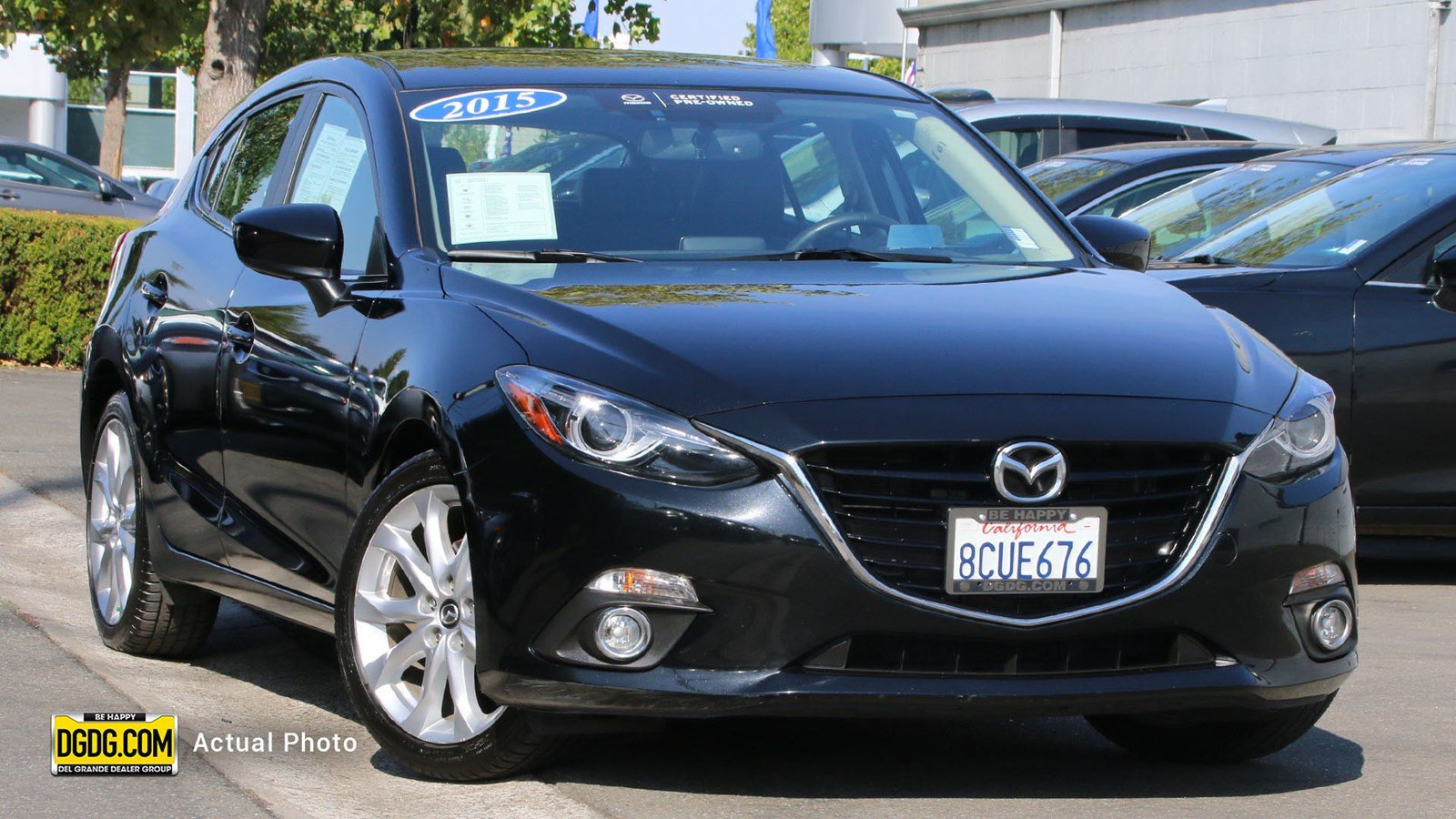 Certified Pre-Owned 2015 Mazda3 s Grand Touring